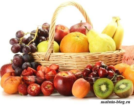 фрукты для веса
