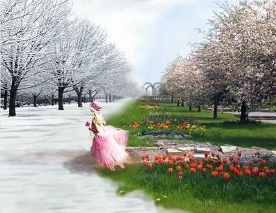 к весне