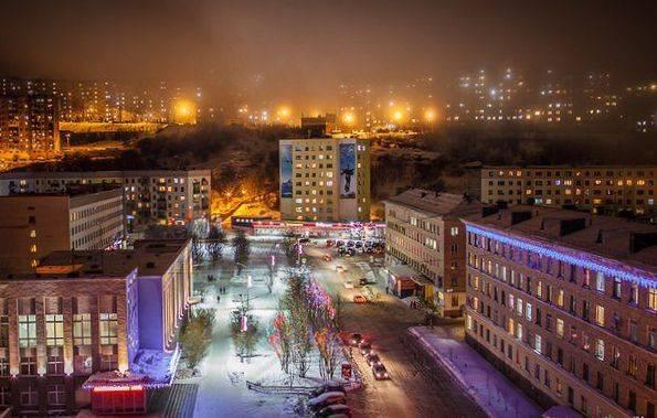 severomorsk zimnij