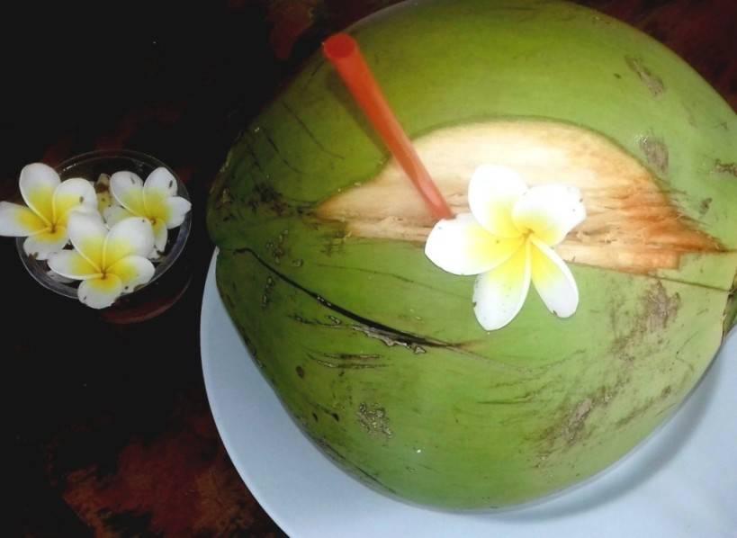 кокос польза сока