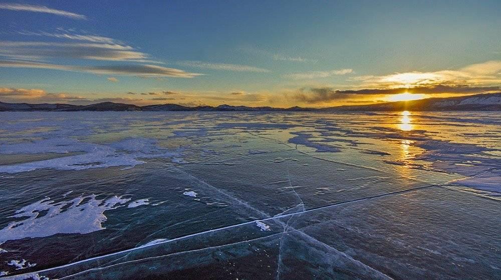 чудный зимний Байкал