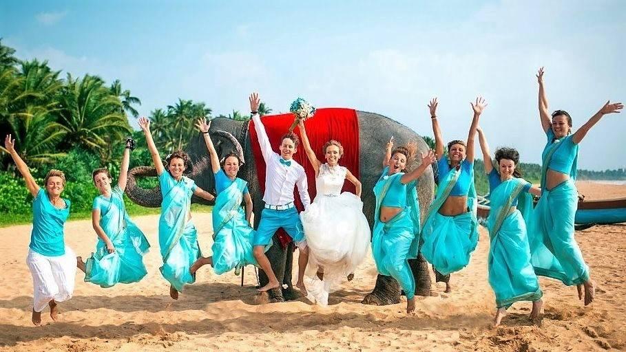 шри ланка свадьба