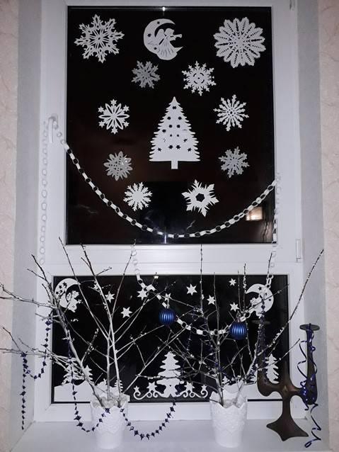 окно зимнее