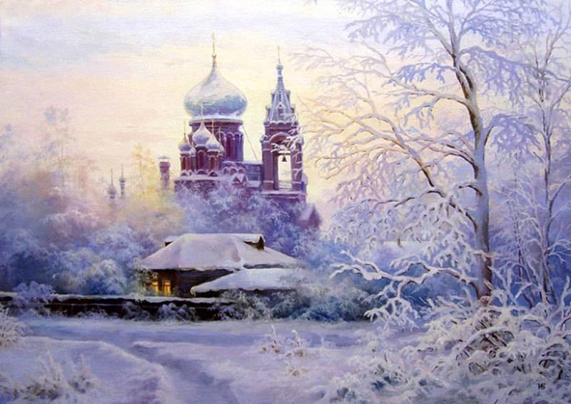 И. Булыгин Рождественский сочельник
