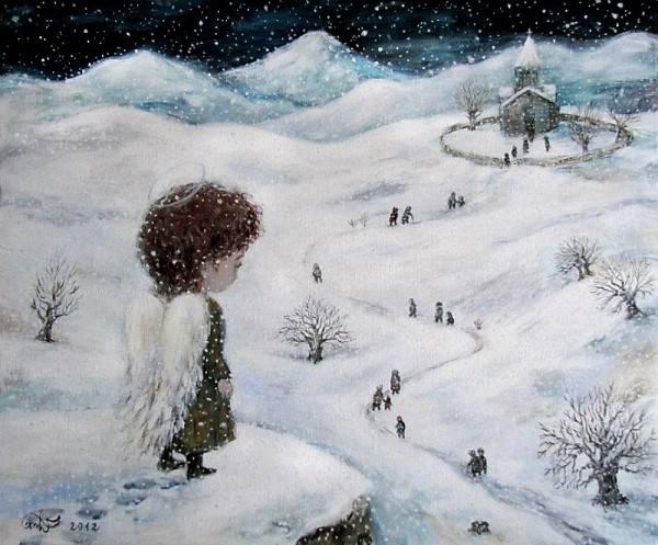 Нино Чакветадзе Рождество