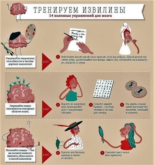 поделиться ещё упражнения для мозга в картинках решил выложить подборочку