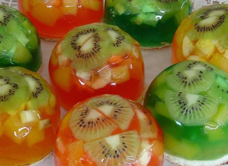 желе фруктовое