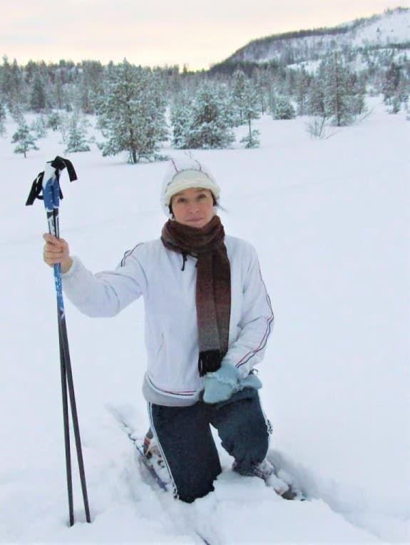 лыжи и я