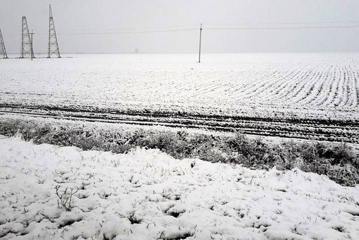 зима в Анапе 2017