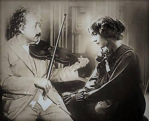 Эйнштейн и Коненкова