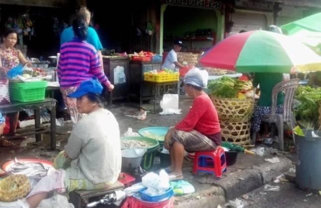 Бали рынок продуктовый