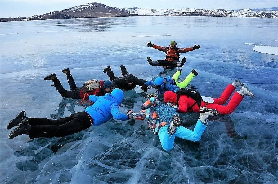 красота Байкальского льда