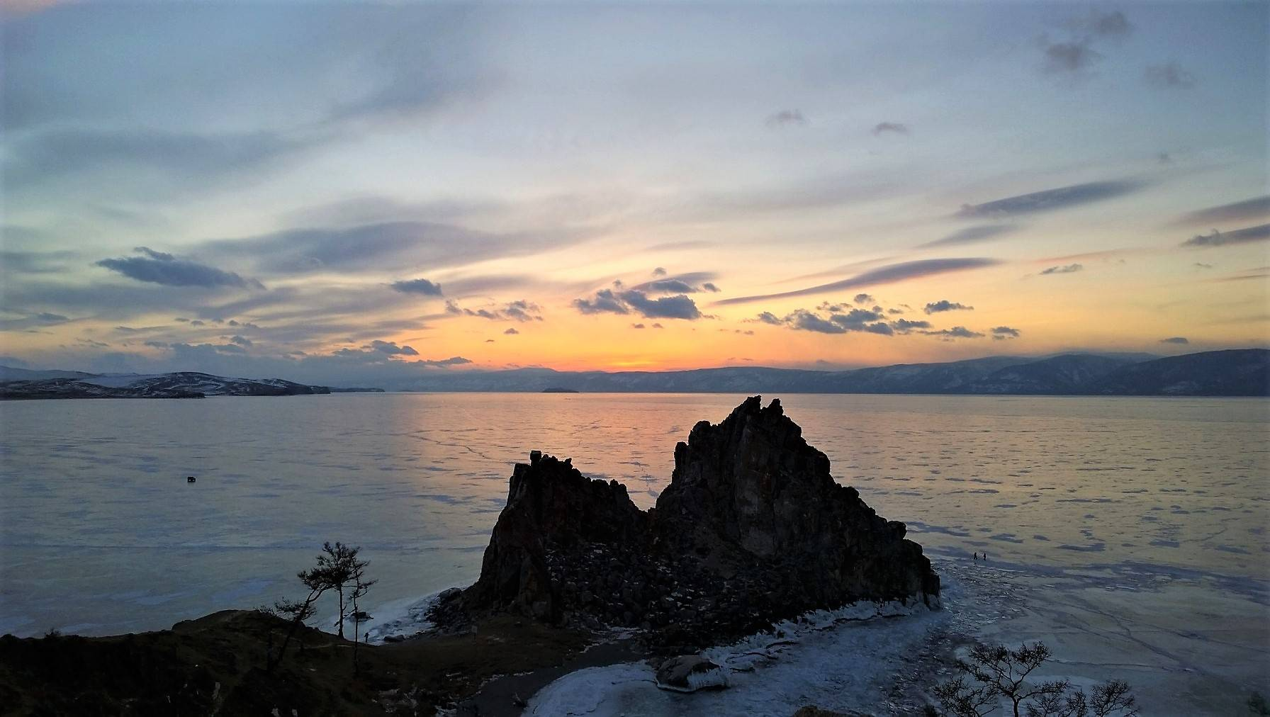 ночной Байкал