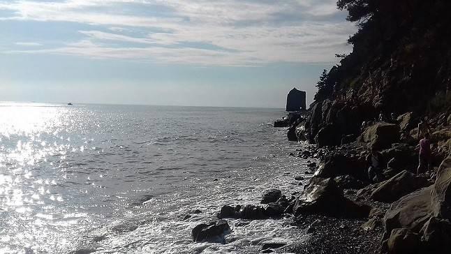 Чёрное море Скала у Геленджика