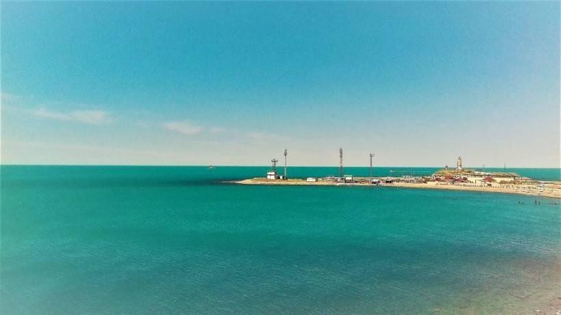 Чёрное море меняет свой цвет на бирюзовый