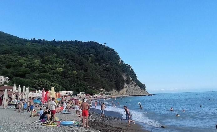 Холодная вода Чёрного моря 2017