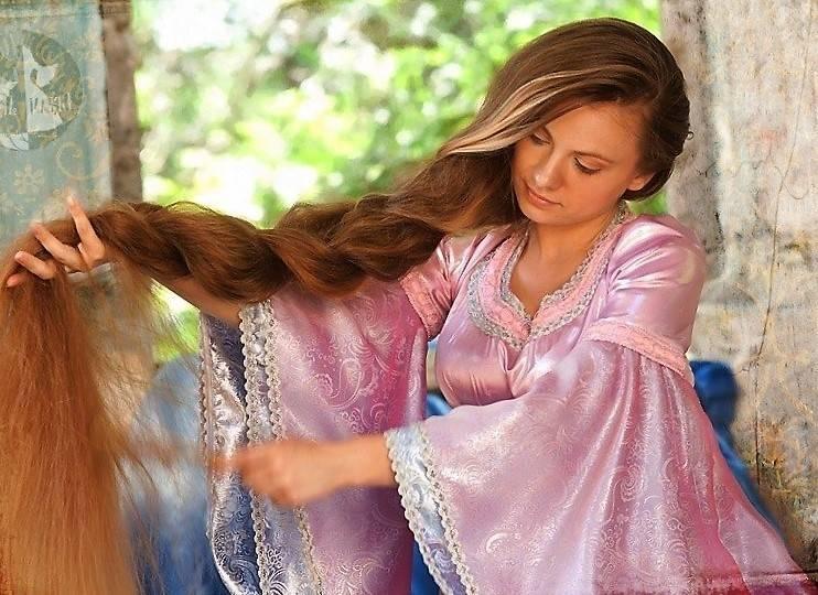 волосы женщине