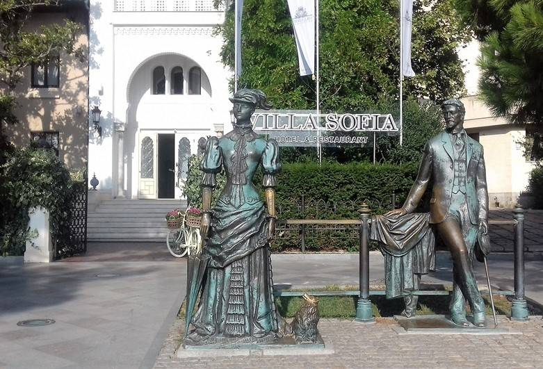Ялта Памятник Дама с собачкой