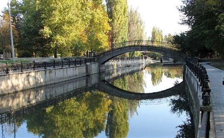 Ялта река Водопадная