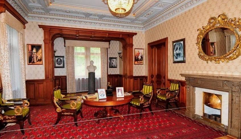 гостиная массандровский дворец
