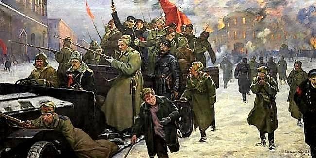 революция в октябре 1917