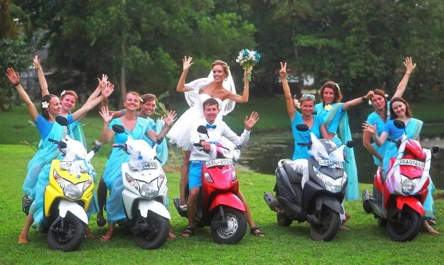 Свадьба Шри-Ланка