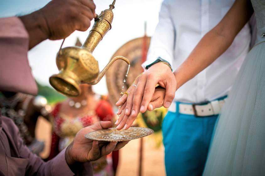 Свадьба Шри Ланка