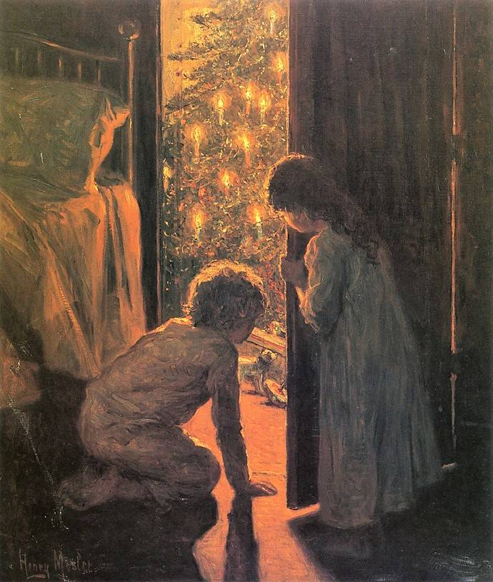 Генри Мослер Рождественское утро, 1916