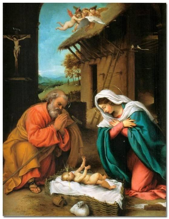 Лоренцо Лотто Рождество