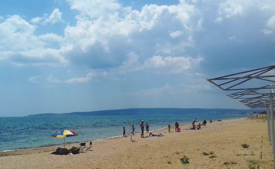 пляжи Берегового у Керчи