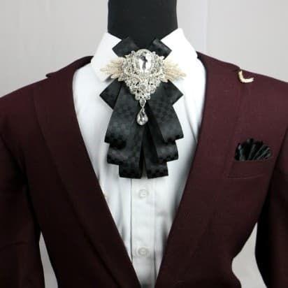 мужской галстук в прошлом