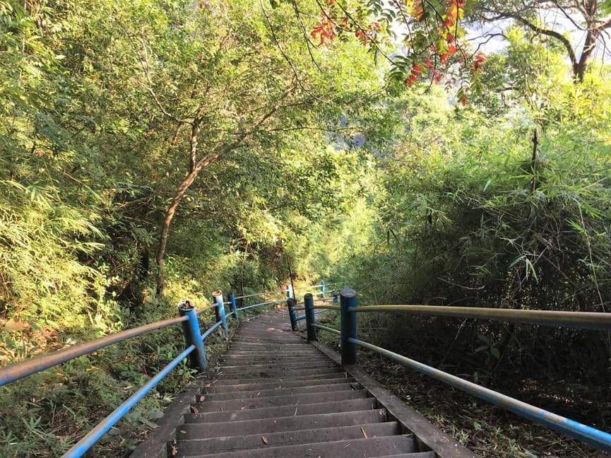 лестница в 1230 ступеней