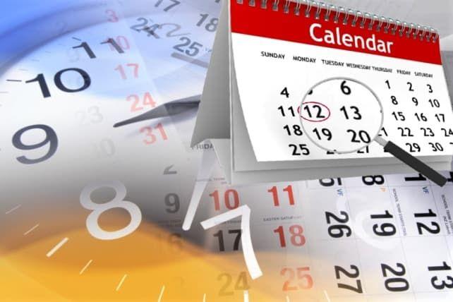 история календарей