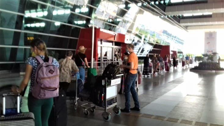 аэропорт Индия в эвакуацию 2020