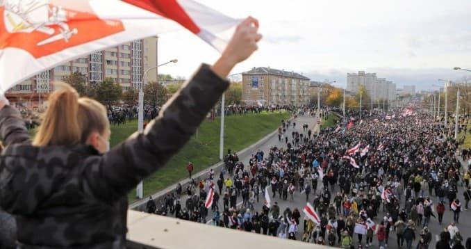 Беларусь протесты 2020