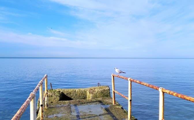 Сочи , Черное море, пляжи